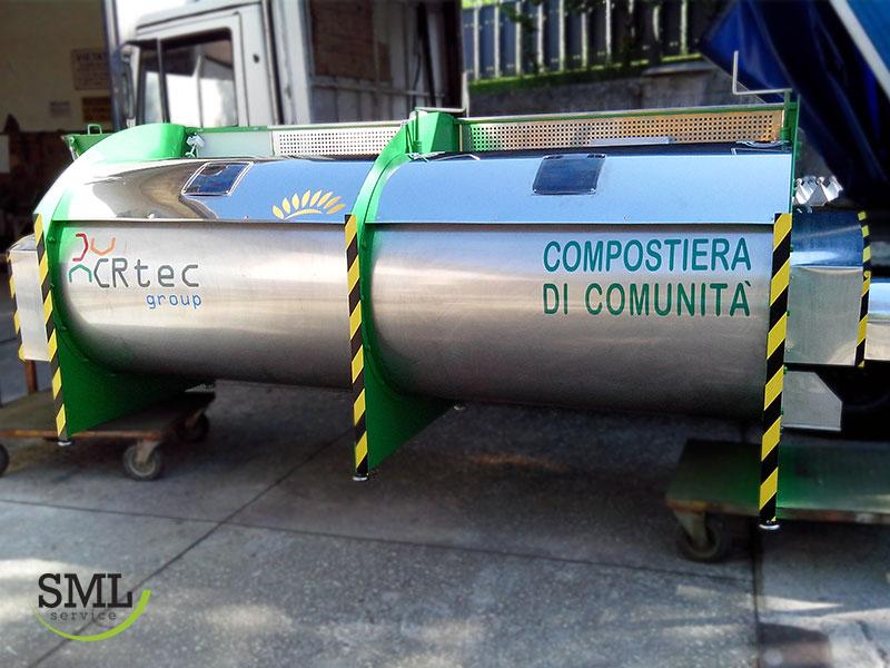 Biobi 200 kt per compostaggio di comunità